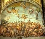 Afrescos na catedral de Orvieto, Szene: Os Danados